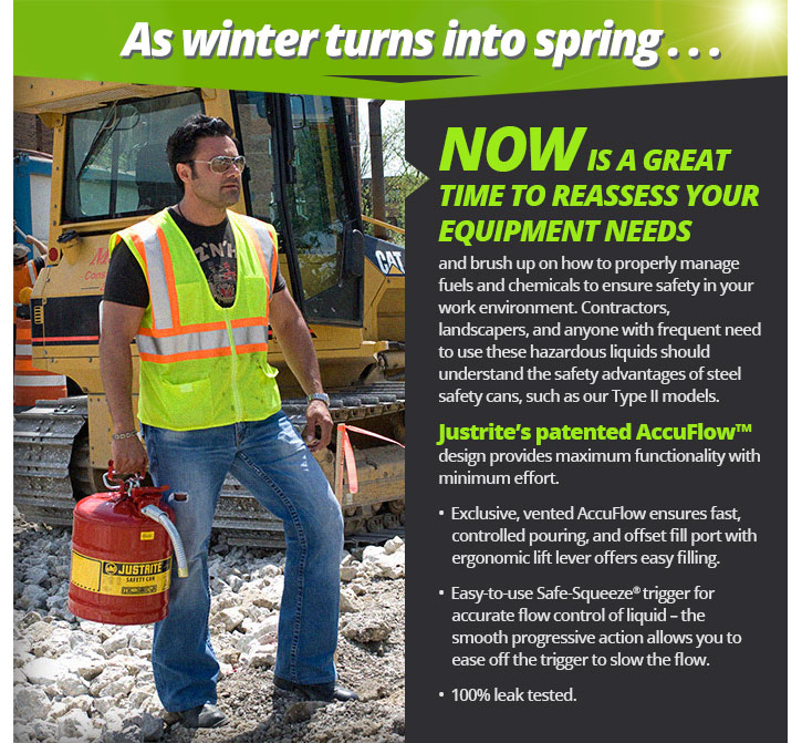 NOW IS A GREAT TIME TO REASSESS YOUR EQUIPMENT NEEDS