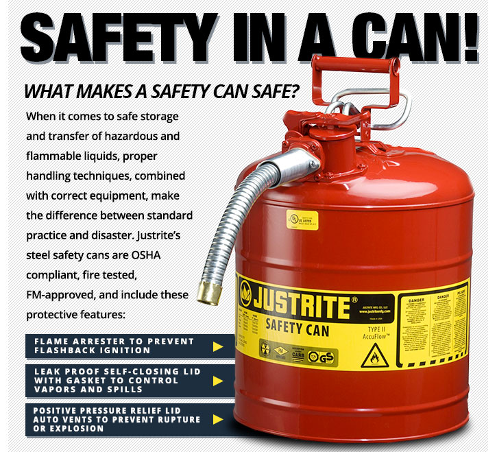 SAFETY IN A CAN!